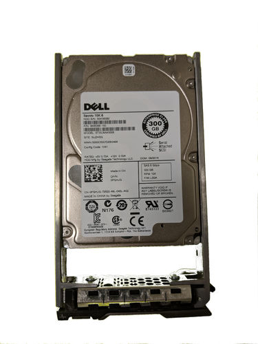 "Dell PGHJG 300GB 10K SAS 6Gbps 2.5"" Hard Drive"